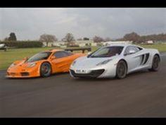 McLaren F1 takes on the MP4-12C on track - http://www.osv.ltd.uk/latestnews/hypercars/mclaren-f1-takes-mp4-12c-track/