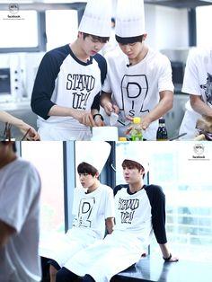 Jin & Jimin, BTS