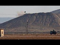 Kritische Lage rund um die syrisch-kurdische Stadt Kobane