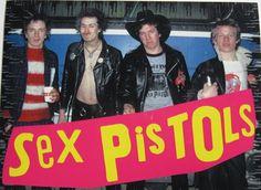 THE  SEX  PISTOLS .
