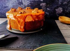 CHEESECAKE ΜΕ ΚΟΛΟΚΥΘΑ ΚΑΙ ΚΑΡΑΜΕΛΑ ΓΑΛΑΚΤΟΣ | Pastry...tsio Cheesecake, Pudding, Desserts, Food, Tailgate Desserts, Deserts, Cheese Pies, Puddings, Cheesecakes