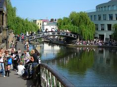 Regent's canal, Camden Town by Gkriniaris, via Flickr
