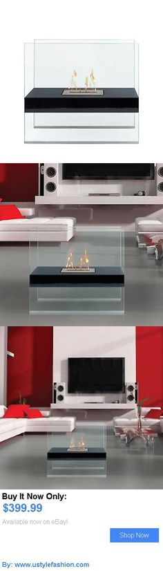 Fireplaces and Mantels: Anywhere Fireplace Madison Elegant Standing Fireplace Indoor Outdoor Bio Ethanol BUY IT NOW ONLY: $399.99 #ustylefashionFireplacesandMantels OR #ustylefashion