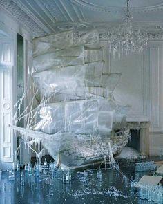 Ice Sculptures at Parties - Rhea Thierstein