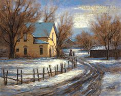 Landscapes - Pastoral and Country - Winter Memory - McNaughton Fine Art Company