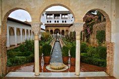 Resultado de imagen de la alhambra jardines