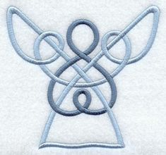 Celtic Angel Repinned by RainyDayEmbroidery http://www.etsy.com/ca/shop/RainyDayEmbroidery
