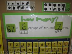 KindergartenWorks: detailed calendar time process including how to incorporate decomposing with word statements