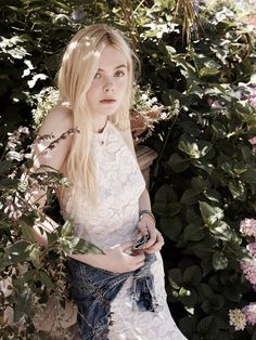 """Elle Fanning in """"Bright Young Thing"""" by Benny Horne for Miss Vogue Australia #1"""