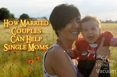 Four ways married couples can be a blessing to single parents and those whose marriage may be in crisis.