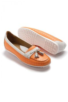 a22035110 Peter Millar Ladies Golf Shoes  Ray Leather Tassle Golf Loafer -  PM-LS14F10-Ray