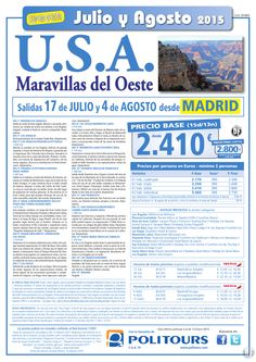 U.S.A. Maravillas del Oeste,salidas 17 de Julio y 4 de Agosto dsd Madrid(15d/13n)p. final dsd 2.800€ ultimo minuto - http://zocotours.com/u-s-a-maravillas-del-oestesalidas-17-de-julio-y-4-de-agosto-dsd-madrid15d13np-final-dsd-2-800e-ultimo-minuto-6/