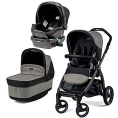 how to put peg perego car seat in stroller