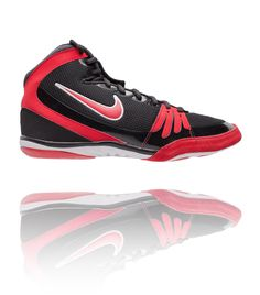 Nike Freek Black   Red   White - Athlete Performance Solutions Nike  Wrestling Shoes 97b5af7da