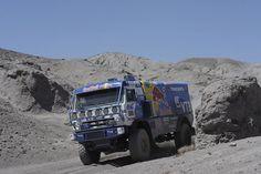 Another Zombie Apocalypse Vehicle (ZAV).  I believe this is a Tatra Dakar from the Czech Republic.