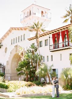 Santa Barbara Courthouse Elopement by The Why We Love