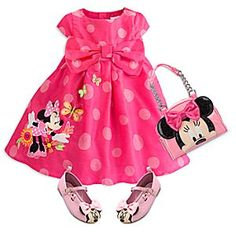 Minnie Mouse Clubhouse Fashion Collection for Girls Minnie Mouse Clubhouse, Minnie Mouse Pink, Kids Outfits Girls, Toddler Girl Outfits, Baby Doll Accessories, Baby Girl Dolls, Halloween Disfraces, Disney Outfits, Baby Disney