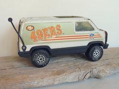 To bad it's so expensive. Tonka Toys, Tonka Trucks, San Francisco 49ers, Little Ones, Van, Random Things, Vintage, Pride, Etsy