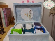 Projetinho Handmade - Caixa de chá