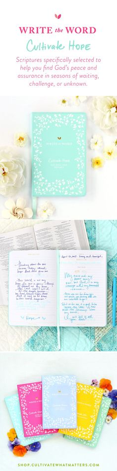 Write the Word journals are now BACK IN STOCK!