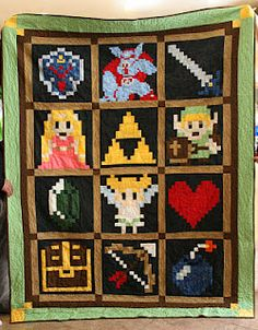 Legend of Zelda Quilt! May make user invisible when worn.