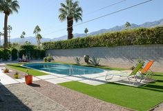 Midcentury Palm Springs home, impressively restored, asks $587K - Curbedclockmenumore-arrow : Designed in 1958 by Palmer