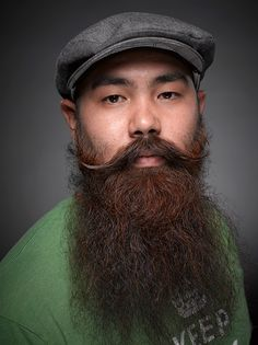 handlebar mustache and beard beard mustache and hair