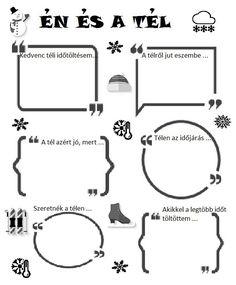 Játékos tanulás és kreativitás: Én és a ... Winter Crafts For Kids, Winter Kids, Diy For Kids, Advent Calendar Activities, Bullet Journal Banner, After School, School Projects, Kids Learning, Kids Playing