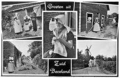 Kwadendamme en Klederdrachten van Zuid-Beveland #Zeeland #ZuidBeveland #katholiek #protestant