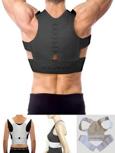 Adjustable Back Brace Posture Corrector Back Spine Support Brace Belt Shoulder Lumbar Correction Bandage Corset Tattoos Supplies Dependable Performance Back To Search Resultsbeauty & Health Tattoo & Body Art