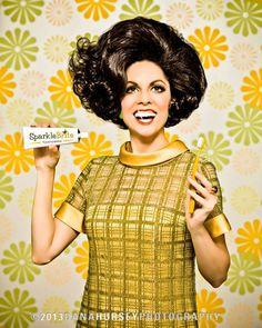 Sparkle Brite with Lynda Kay - © Dana Hursey Photography Modern Hairstyles, Retro Hairstyles, Teeth Images, 1960s Hair, Hair Vector, Hair Creations, Hair Flip, Big Hair, Royalty Free Photos