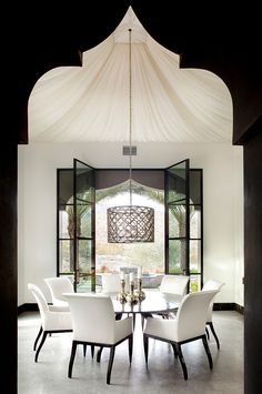 Casbah Cove, Middle Eastern inspired dining room by Gordon Stein Design #dreamhome #moroccan #riad #acasadava #exotic #morocco #marrakesh #marrocos