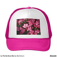 Cover your head with a customizable Pink I Love hat from Zazzle! Shop from baseball caps to trucker hats to add an extra touch to your look! Funny Hats, Pink Hat, Pink Blue, Hot Pink, Mint Green, Love Hat, Team Bride, Yellow Fashion, Gangsters
