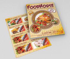 Fast Food Flyer 01 by fatihakdemir on @creativemarket