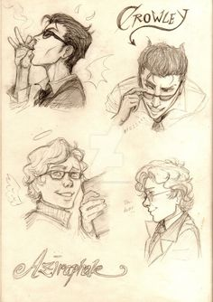 Aziraphale and Crowley from Good Omens