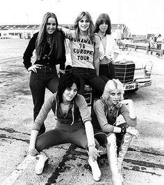 joan jett and the runaways :)