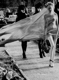 Juliet Ingleby by Sebastian Faena, CR Fashion Book #1