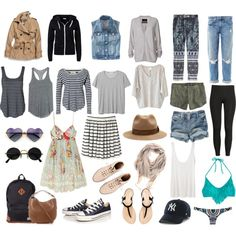 Packing for europe! ireland packing for europe, travel wardr Summer Travel Packing, Travel Capsule, Travel Wear, Travel Style, Travel Fashion, Backpacking Europe, Packing For Europe, Packing Tips, Europe Europe