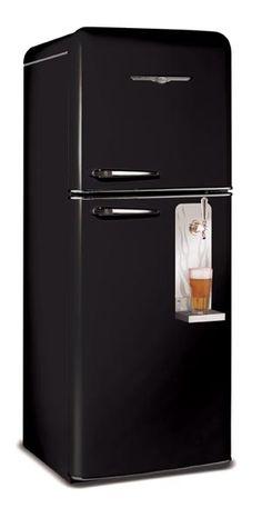 geladeira com cerveja na porta *.*