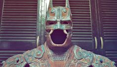 Batman estilo Maya en Batman a través de la Creatividad Mexicana