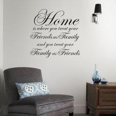 Home sticker - By vinyl impression