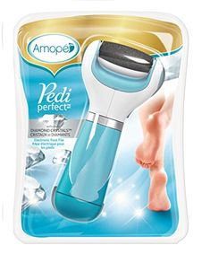 Amopé Pedi Perfect Electronic Foot File with Diamond Crystals - http://freebiefresh.com/amope-pedi-perfect-electronic-foot-file-review/