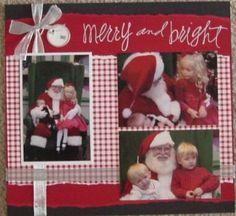 Scrapbook Baby Girl First Valentine | Scrapbook Ideas Scrapbook Pages @ Piece of Scrap | Christmas Layout ...