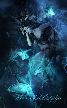 Butterfly Night by moonchild-ljilja.deviantart.com on @deviantART