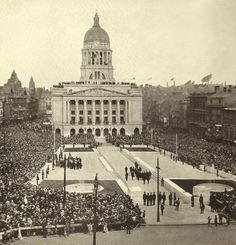 Nottingham Council House was officially opened by the Prince of Wales on 22 May 1929.