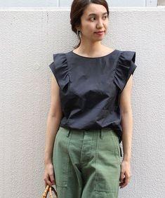 シャツ・ブラウス Japan Fashion, Diy Fashion, Korean Fashion, Fashion Outfits, Womens Fashion, Clothes For Sale, Diy Clothes, Clothes For Women, Summer Outfits