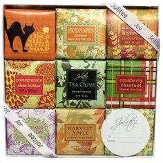 0b9cd4278e8e Amazon.com   French Milled Botanical Soap Sampler Set in Nine Fabulous  Scents