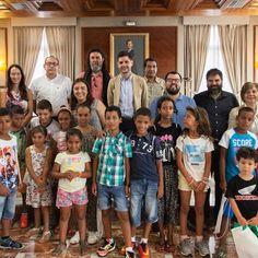 Recepció xiquets sahrauís.  http://www.josemanuelprieto.es