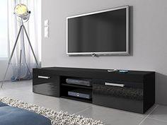 TV Unit Cabinet Stand Mambo Black Matt / Black High gloss... https://www.amazon.co.uk/dp/B01EKAANZ2/ref=cm_sw_r_pi_awdb_x_b5KXybSN89GRP
