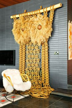 How to Get the Saint Laurent Look at Home via @domainehome.....I want this!!!!